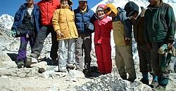 Maya Travel & Takaku group at Kalapattar peak 5545m