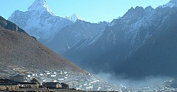 Amadablam from Khumjung