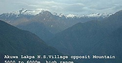 Akuwa opposit mountain